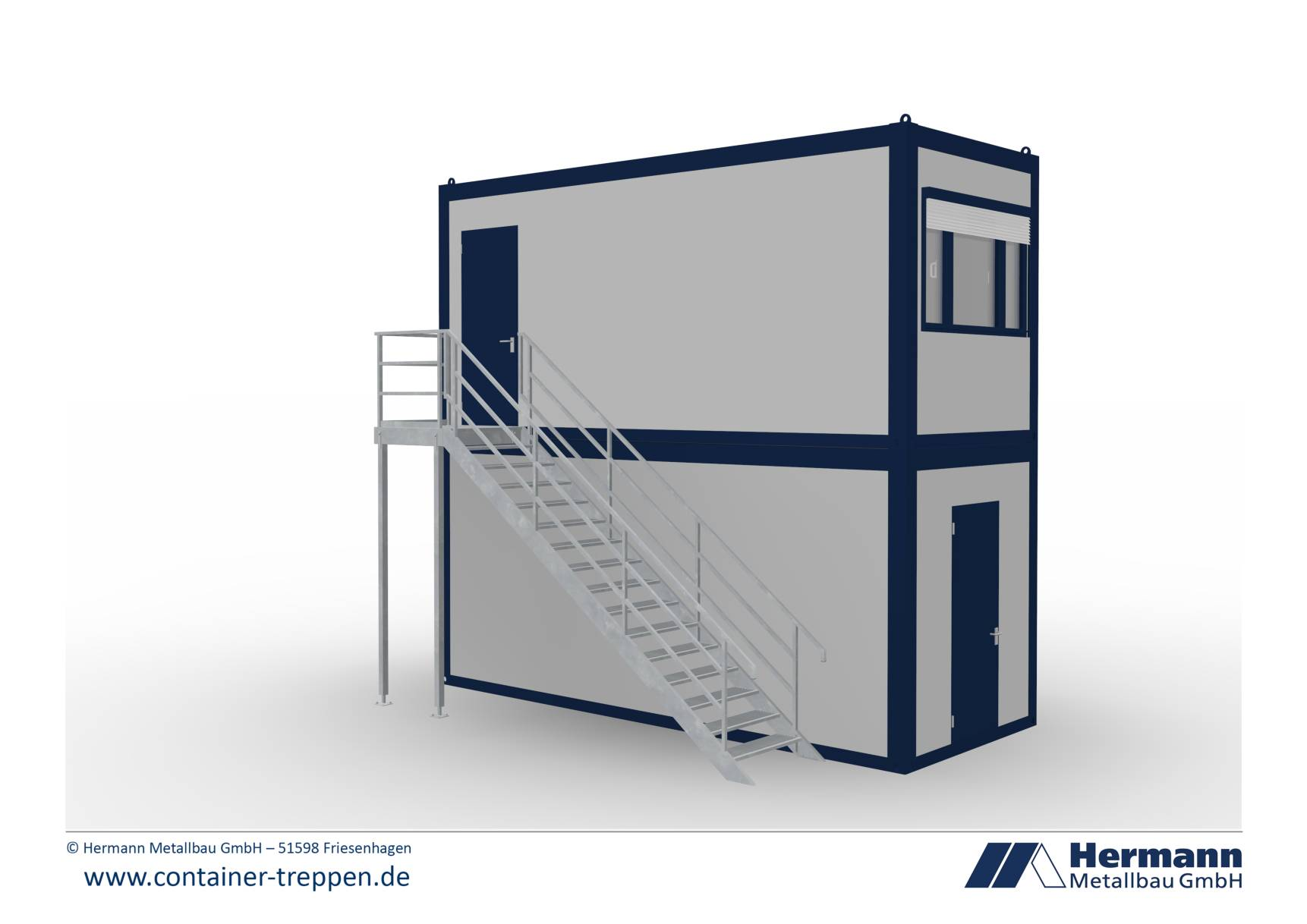 Containertreppe 2G  1