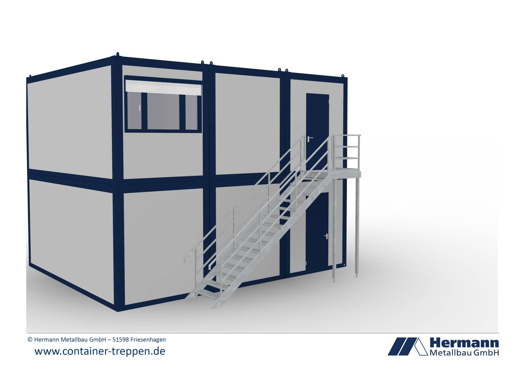 Containertreppe 2G  2