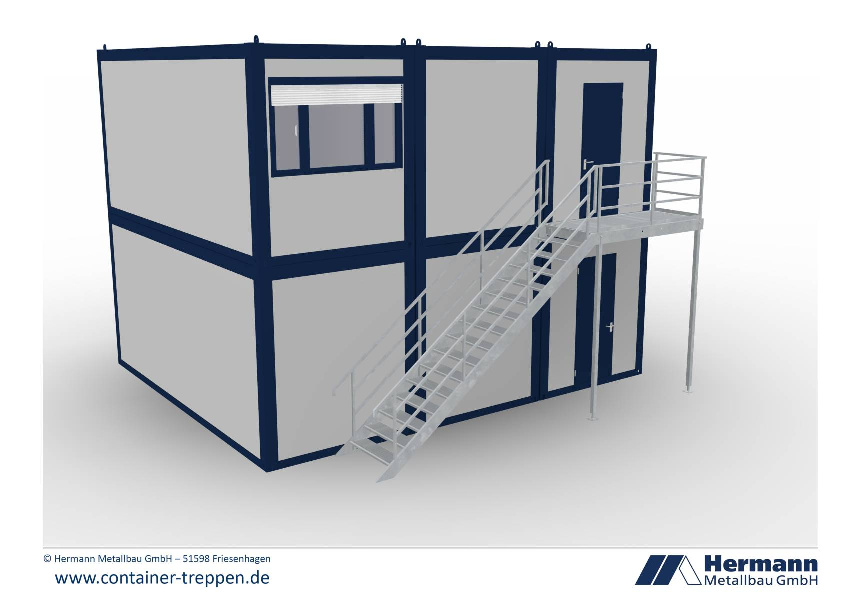 Containertreppe 2G  5