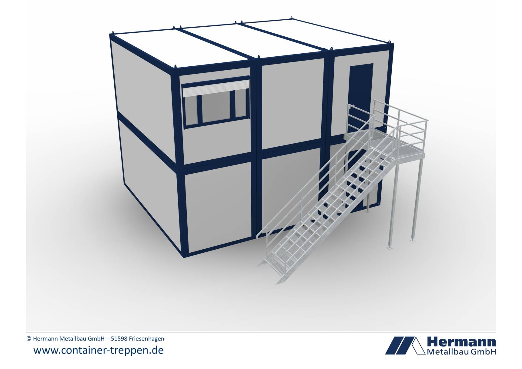 Containertreppe 2G  6