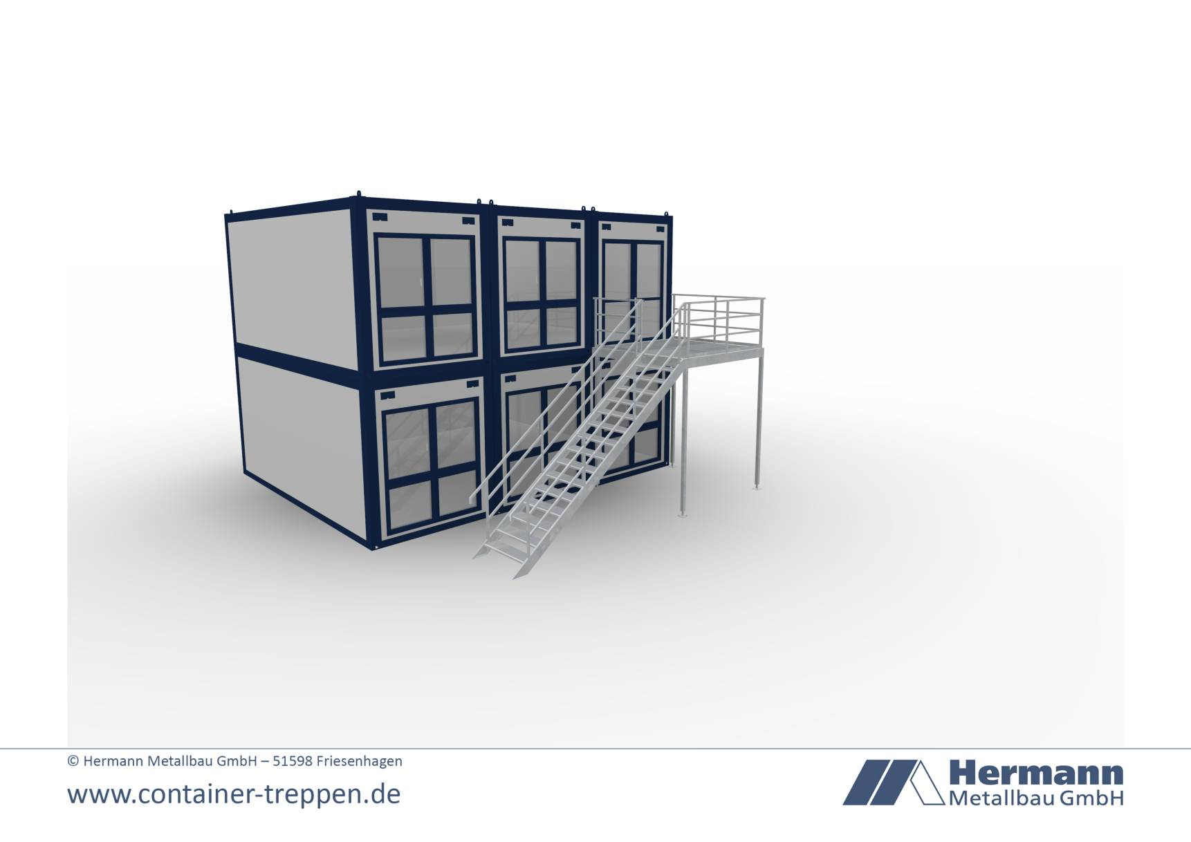 Containertreppe 2G  8