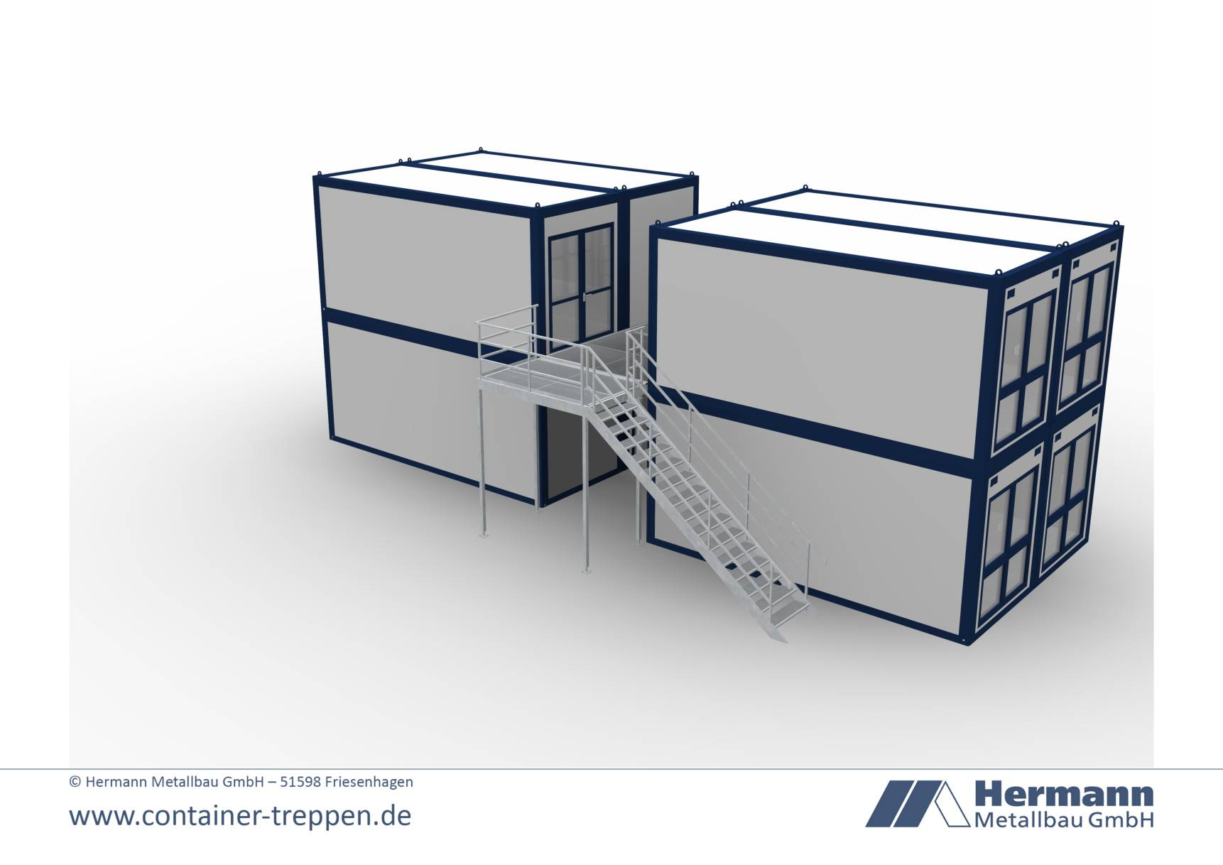 Containertreppe 2G  9