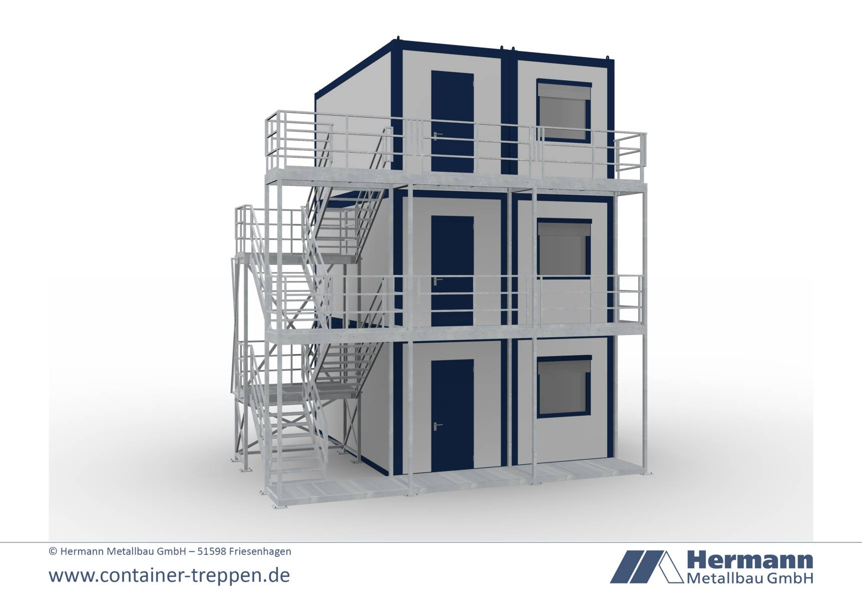 Containertreppe 3G  12