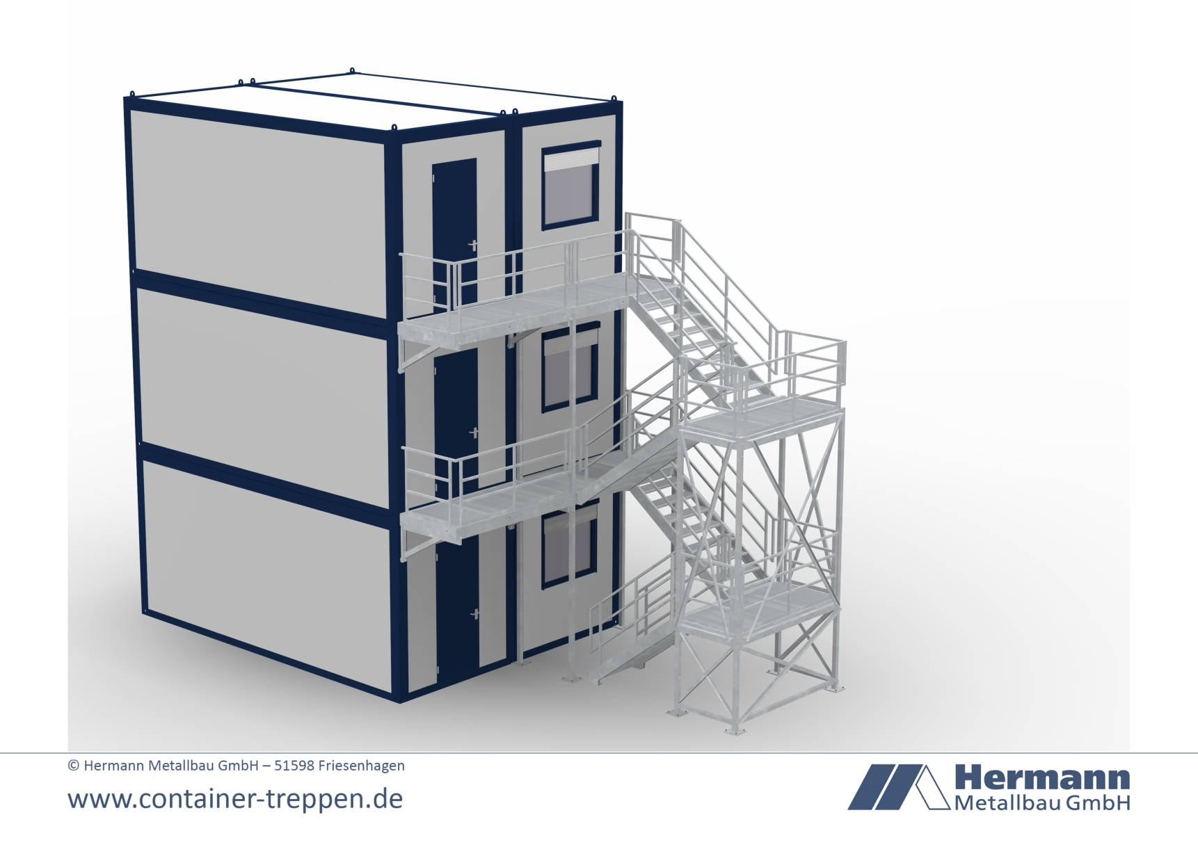 Containertreppe 3G  13
