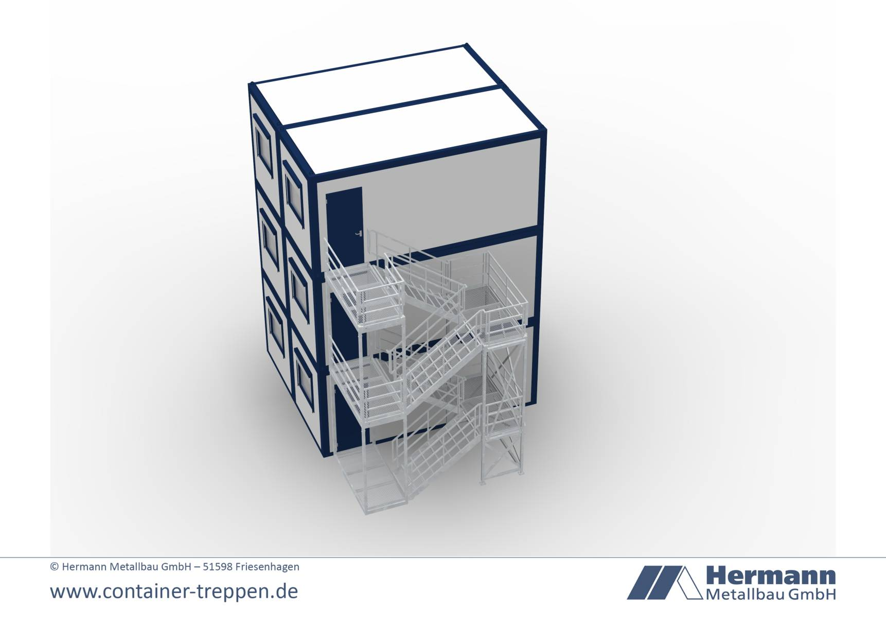 Containertreppe 3G  9