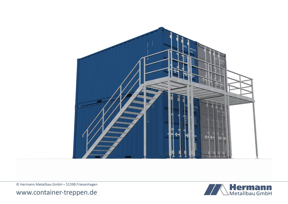 Seecontainertreppe 2