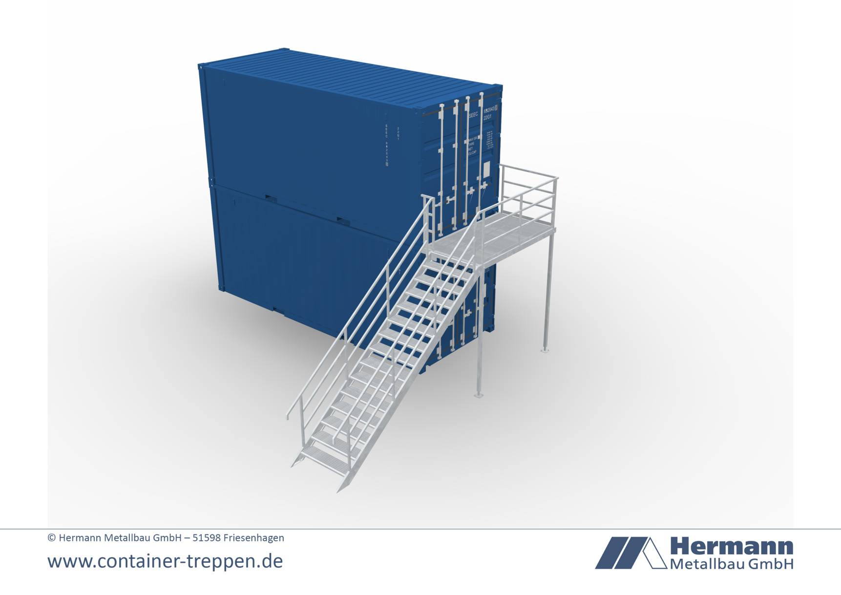 Seecontainertreppe  3