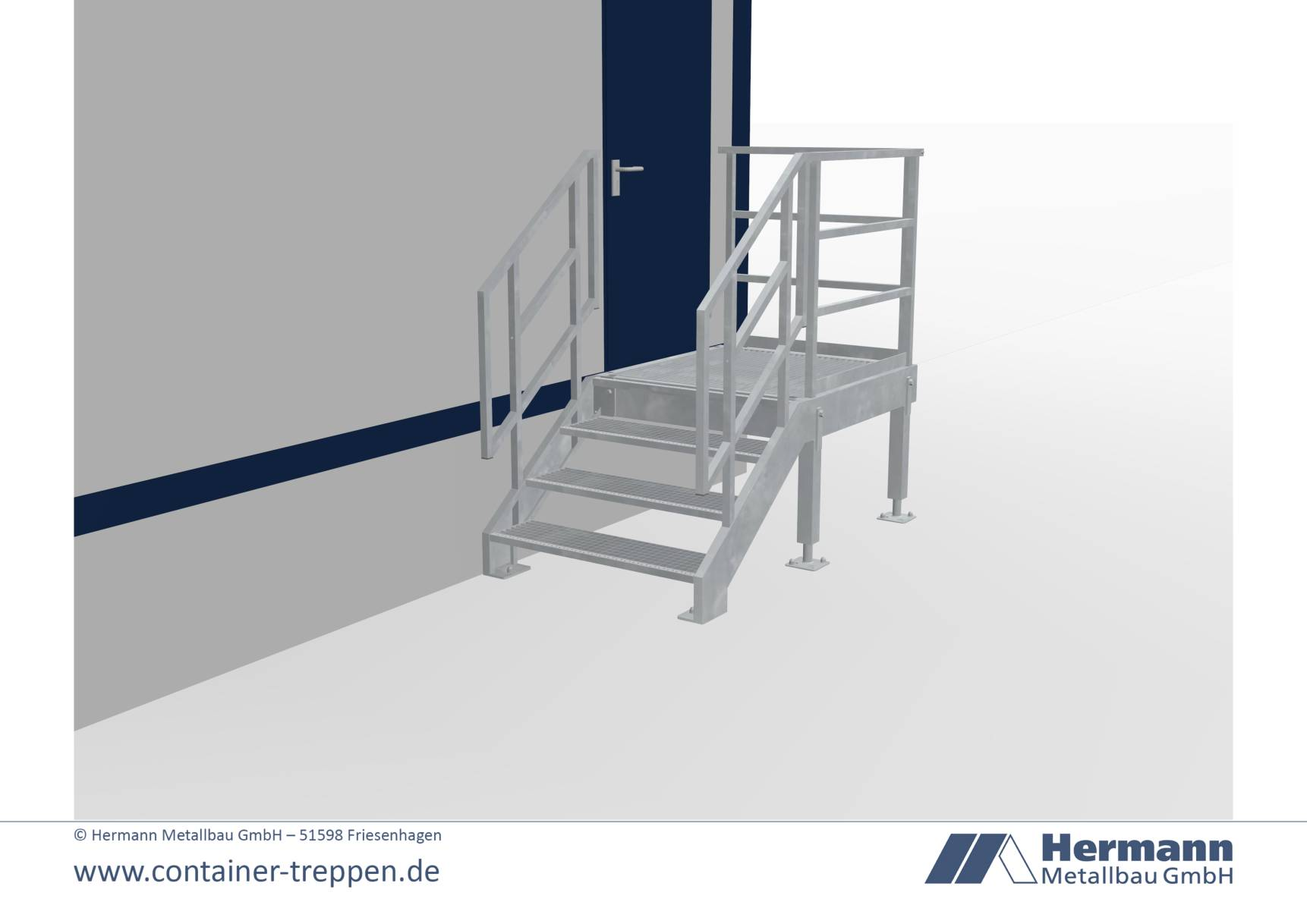 containertreppe 1G 1